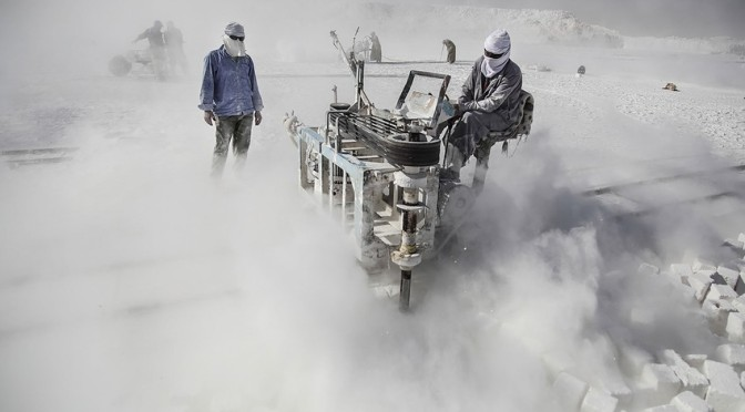 Inside Egypt's Deadly Limestone Quarries