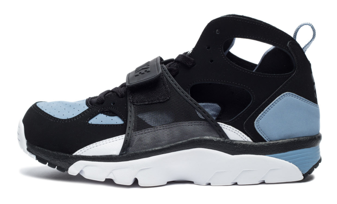 fb53ede2a9fb hot nike air trainer huarache black cool blue the fat cat collective 42db4  9d955