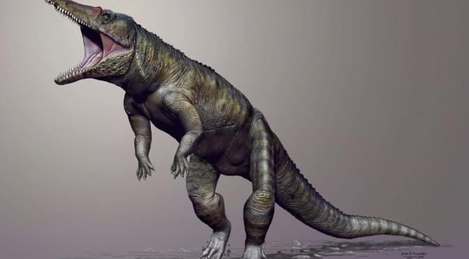 9-Foot 'Butcher Crocodile' Likely Ruled Before Dinosaurs