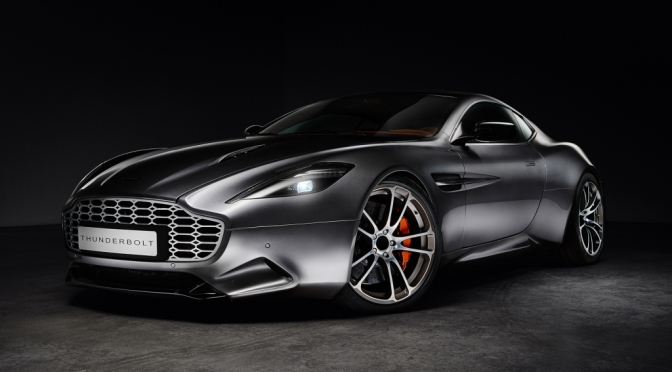 THE COOLEST THING ABOUT THIS CUSTOM ASTON IS ITS…INTERIOR