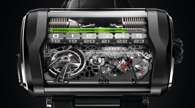 HYT's Third Generation H3 Is Unveiled – When Time Is Told With A Straight Line