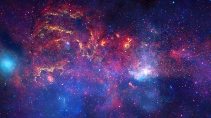 Possible Star Graveyard at Center of Milky Way
