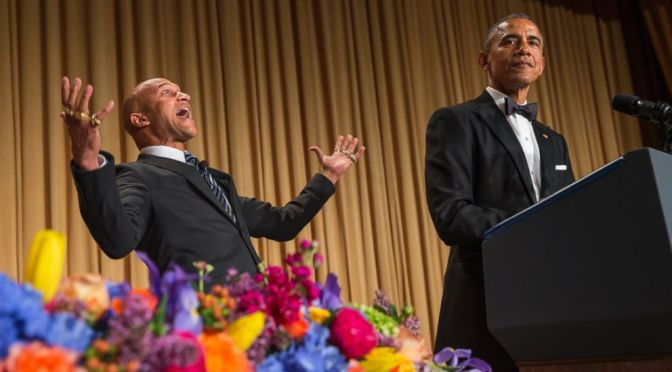 Obama Introduces His Anger Translator Luther