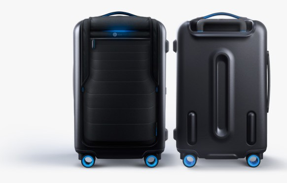 This Suitcase Pairs With Your Phone, and Charges It Too