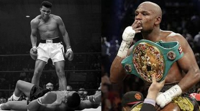 """Nobody Will Ever Brainwash Me To Make Me Believe Muhammad Ali Is Better Than Me"" Floyd Mayweather Jr."