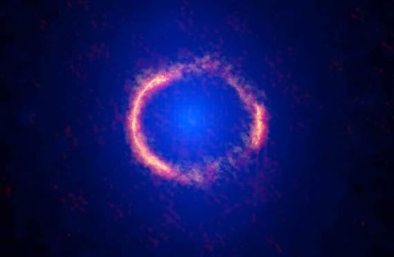 Stunning 'Einstein Ring' Seen In Photo Of Faraway Galaxy