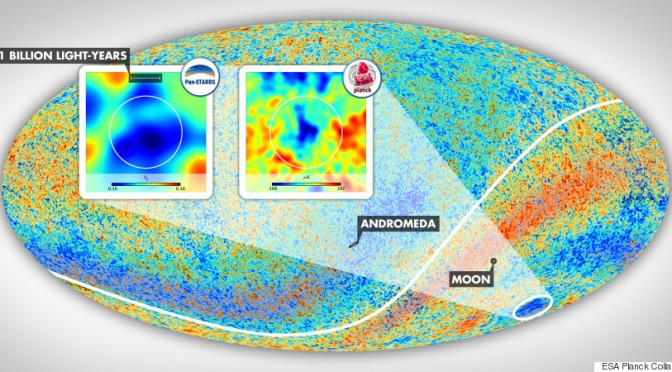 Astronomers Discover What May Be The Biggest Thing In The Universe