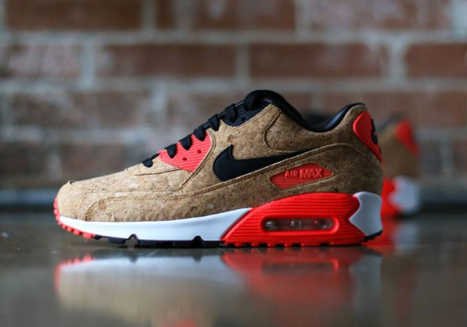 """These Fire """"Cork"""" Nike Air Max 90s Are Dropping Soon"""