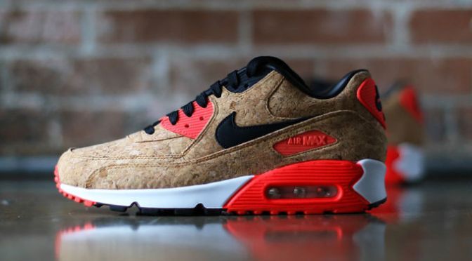"These Fire ""Cork"" Nike Air Max 90s Are Dropping Soon"