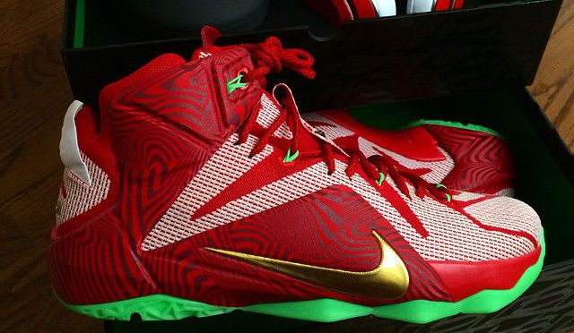 "Sneakerheads Will Be Thirsty Over These ""Sprite"" Nike LeBron 12s"