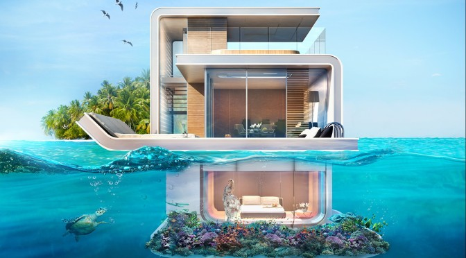 Floating Seahorse\' Homes Are Partially Submerged And Very Cool | The ...