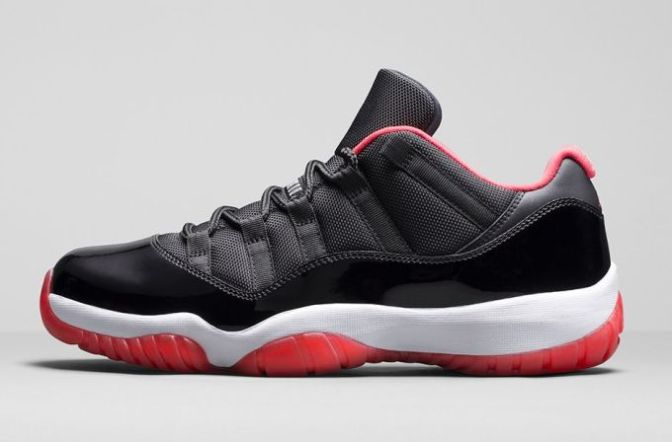 """Here Are the Official Release Details for the Air Jordan XI Retro Low """"Bred"""""""