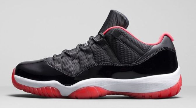 "Here Are the Official Release Details for the Air Jordan XI Retro Low ""Bred"""