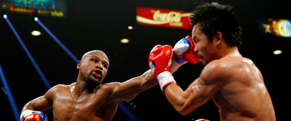 Undefeated Floyd Mayweather Beats Manny Pacquiao