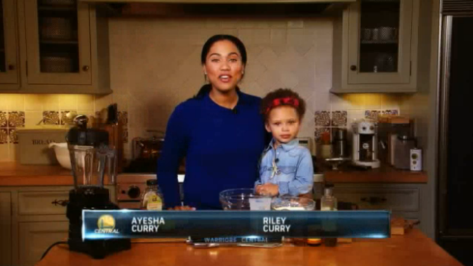 Riley Curry On Her Mom's Cooking Show Is Everything You'd Expect It To Be