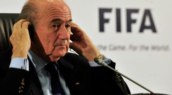 FIFA President Sepp Blatter Has Resigned