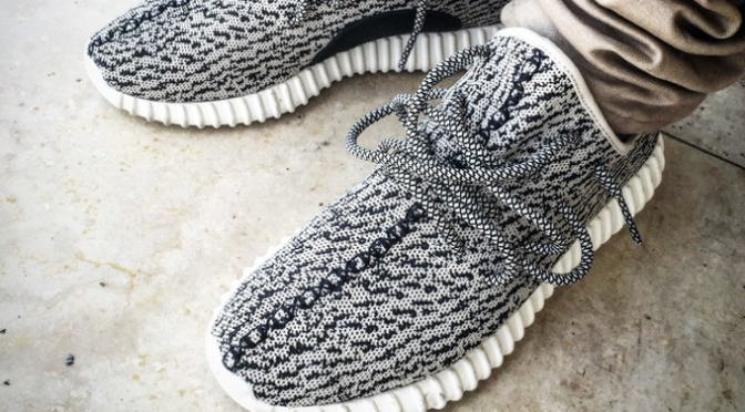 Ibn Jasper Flexes His Yeezy 350 Boost Lows
