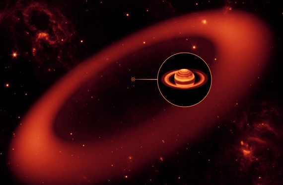 Saturn's 'Invisible' Ring Is Way Bigger Than Scientists Thought