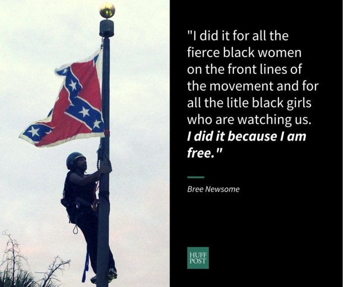 Woman Who Took Down Confederate Flag: 'I Refused To Be Ruled By Fear'