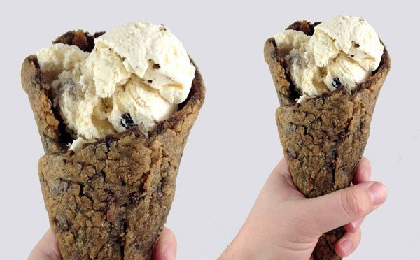 Make This Chocolate Chip Cookie Ice Cream Cone