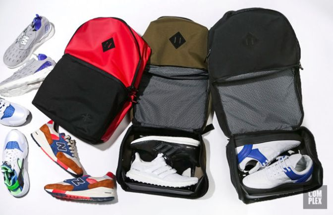 These Backpacks Are the Perfect Way to Travel With Your Sneakers