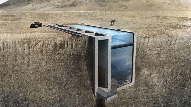 A House Hidden In The Cliffs