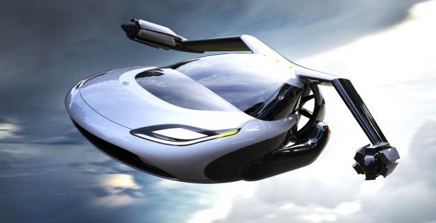 Terrafugia Releases New Driverless Flying Car… Animation