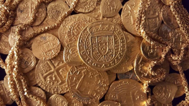 A Spanish Coin Worth $500,000 Was Just Found In a Florida Shipwreck
