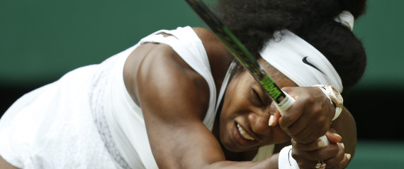 Serena Williams Sends Her Sister Packing At Wimbledon