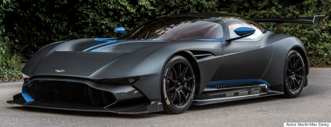 Aston Martin's New Supercar Is Stunning