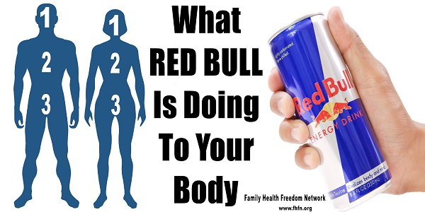 How Your Body Reacts To Drinking Red Bull