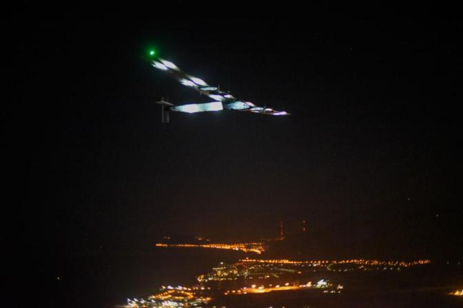 Solar Plane Completes Epic Flight