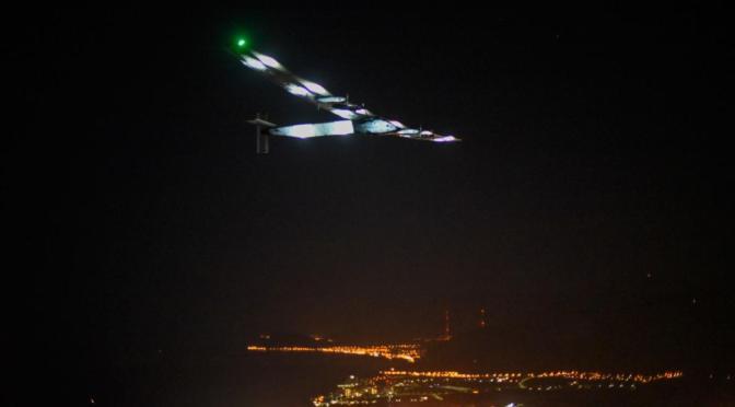 Solar Plane Completes Epic Flight