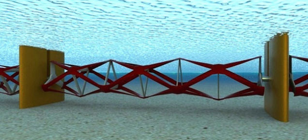 'Tidal Fence' Will Harness the Power of the Surf