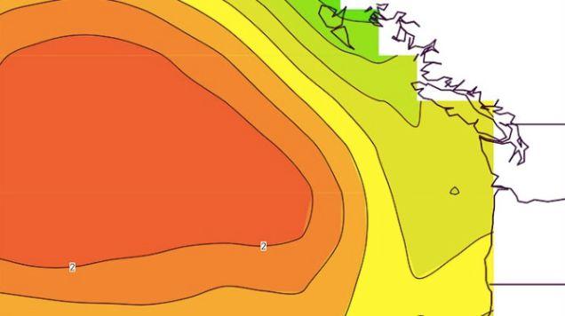 """A Warm Ocean """"Blob"""" In the Pacific Is Feeding a Toxic Algae Bloom"""