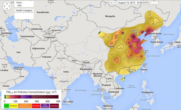 The Awful Air Pollution in China Is Killing 4,000 People Every Day