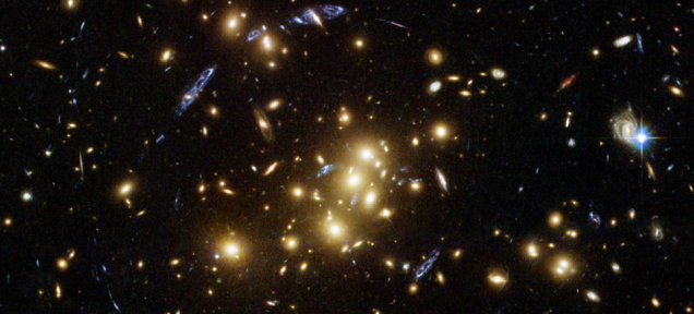 Hubble Captured a Cosmic Optical Illusion
