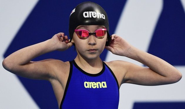 10-Year-Old Girl Becomes Youngest Swimmer At A World Championship