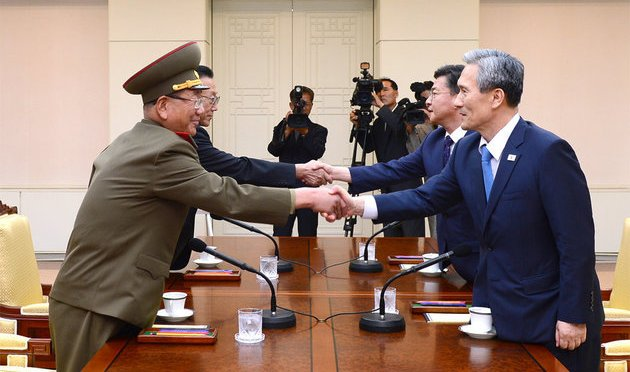 North And South Korea Try To Avert 'All-Out' War