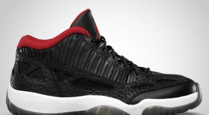 "The ""Bred"" Air Jordan XI IE Lows Are Coming Back"