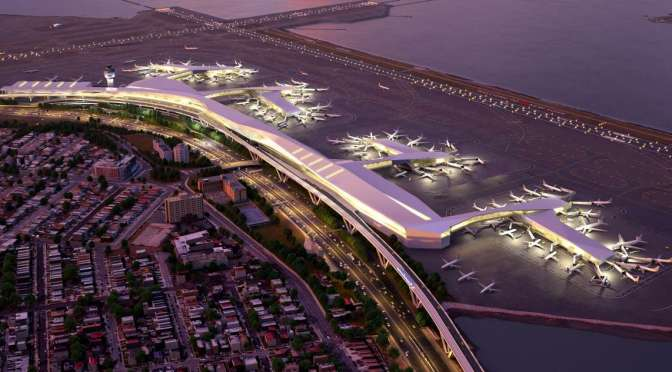 THE AIRPORT OF THE FUTURE ISN'T AN AIRPORT: IT'S A CITY