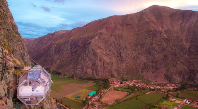 Sleep With the Condors at This Peruvian Hotel Hanging Off a Cliff