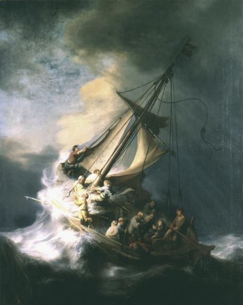 rembrandt-seascape