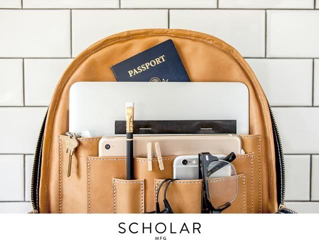 Scholar MFG Makes Eco-Conscious, Buttery, and Minimal Leather Goods Right
