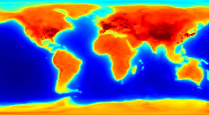 Glowing Antineutrino Map Shows How Radioactive the Earth Is