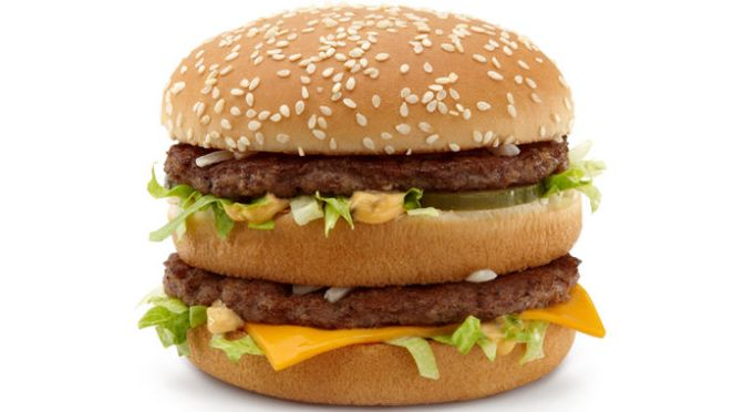 What happens to your body one hour after eating a Big Mac?