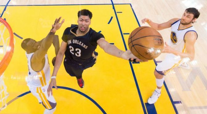 "Shaquille O'Neal: Anthony Davis Is ""Probably"" The Best Power Forward In The NBA"