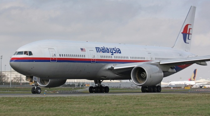 Confirmed: Wing Part Is From Missing Malaysian Flight