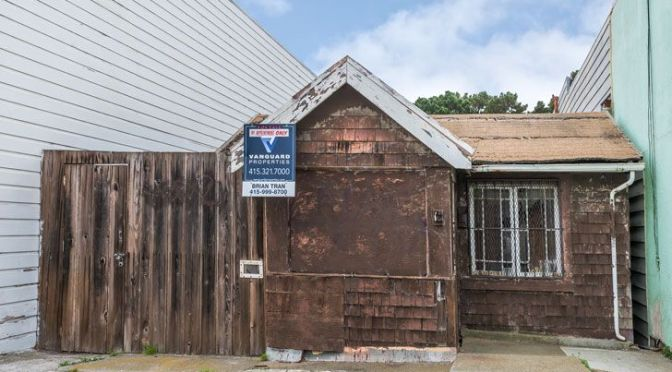 This is what a $350,000 house in San Francisco looks like