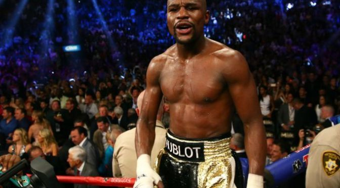 Floyd Mayweather Reportedly Used a Banned IV the Day Before His Fight Against Manny Pacquiao